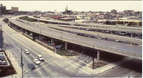 Park East Freeway Was Conspicuously Underused